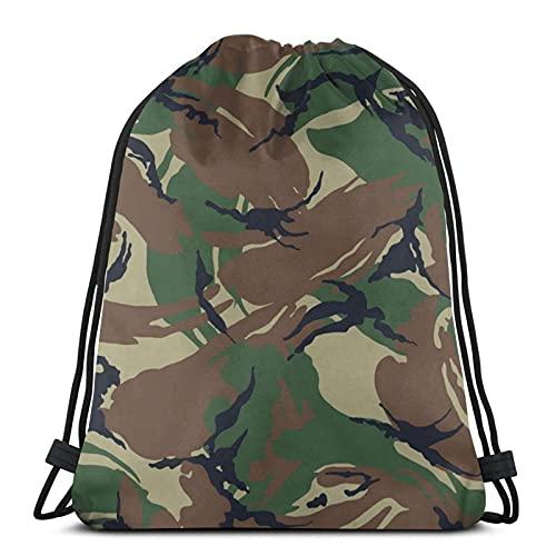 Lmtt Kordelzug Rucksack Sports Gym Sackpack Reisetasche Green Camouflage