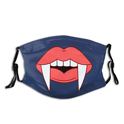 Vampire Dust Washable Reusable Filter Reusable Adult Mouth Warm Windproof Cotton For Men Women