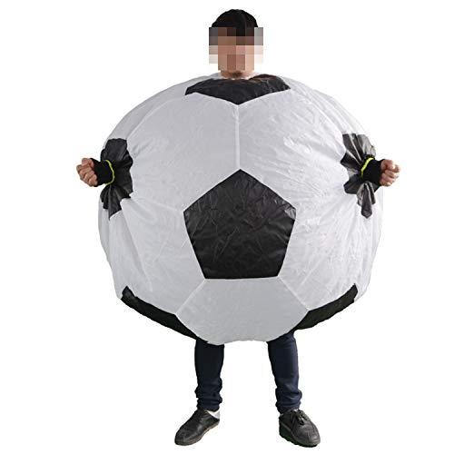 LOVEPET Traje Inflable De Fútbol Traje De Fútbol Animado Divertido De La Animadora Conveniente para Animar A Su Equipo Favorito Y Estrella