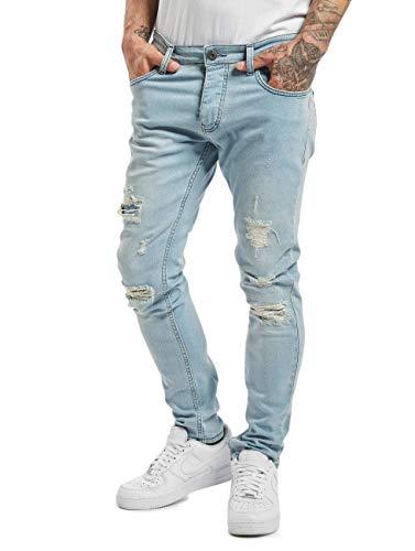 2Y Herren Slim Fit Jeans Raul blau W 34