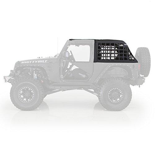Smittybilt 571035 C.RES Cargo Restraint System Net for 2007-2018 Jeep Wrangler JK 2-Door - Black