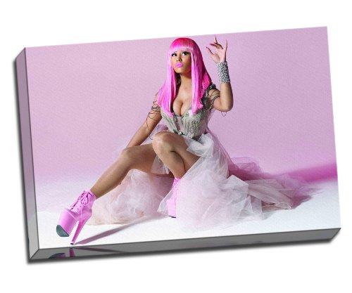 Nicki Minaj Kunstdruck auf Leinwand poster 76,2x 50,8cm Zoll