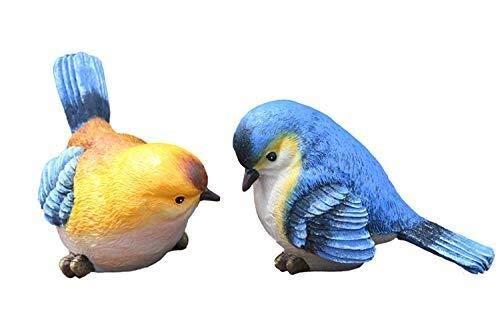 IVHJLP Las estatuas de Aves Animal jardín de esculturas Estatuilla Divertida del jardín decoración al Aire Libre de la Resina del césped Adornos Decoración - Mejor Cubierta al Aire Libre Decoraciones: Amazon.es: