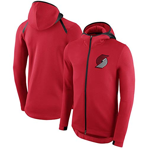 Heren Hoodie NBA Fans Jersey Portland Trail Blazers Sweatshirt met trekkoord Rits Lange mouwen Casual Comfortabele Warm Pullover S-XXXL