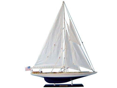 Hampton Nautical  Enterprise Sailboat, Limited Edition, 27