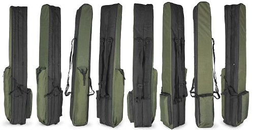 Dragon Rutentasche Angeltasche Angelkoffer 1 2 oder 3 Kammern 80cm bis 190cm (160cm, 2 - Kammern)