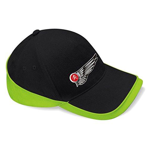 mmshop18 Citroen – Wings Logo Car – Schwarz Unisex Baseball Cap – C085 Gr. Einheitsgröße, SW-GRÜN