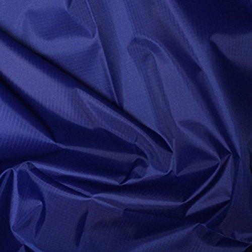 Royal Blau Gewebe der gefärbt Polyester Rip Stop reißfest wasserdicht 150cms breit–Meterware