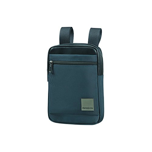 SAMSONITE Hip-Square - Tablet Cross-over Bolso bandolera, 23 cm, 2 liters, Azul (Dark Blue)