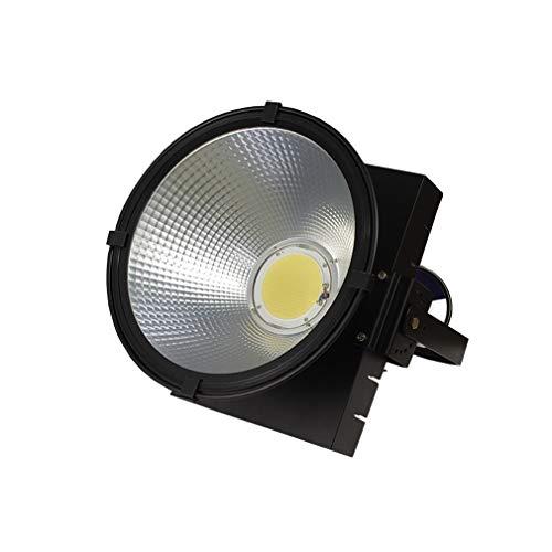 La sécurité extérieure de lumière d'inondation de LED allume le projecteur imperméable pour le chantier de construction carré (Couleur : Lumière blanche-600w)