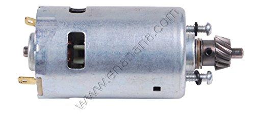 R0002-OS Ricambio Motore elettrico a pignone per Scuotitore/abbacchiatore di olive 12v MOD. T9005U