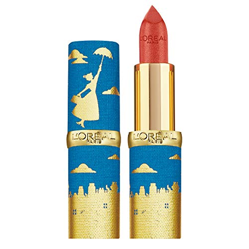 L'Oréal Paris Color Riche Rossetto Lunga Durata, Edizione Limitata Disney Mary Poppins, Idea Regalo Donna, Finish Satinato, Beige 342