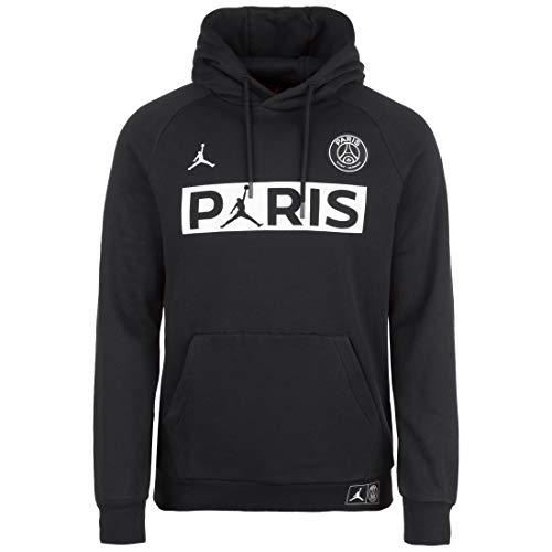 Nike Jordan, Kapuzenpullover Paris Saint Germain, Saison 2019-20, Herren, schwarz, Medium