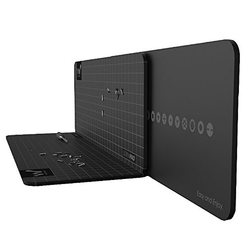 寺院日両方Xiaomi Cool Soft Wowpad磁気スクリューパッドポジションプレート記憶マット修理ツール