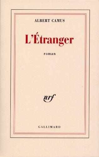 L'Etranger de Camus. Albert (1942) Broché