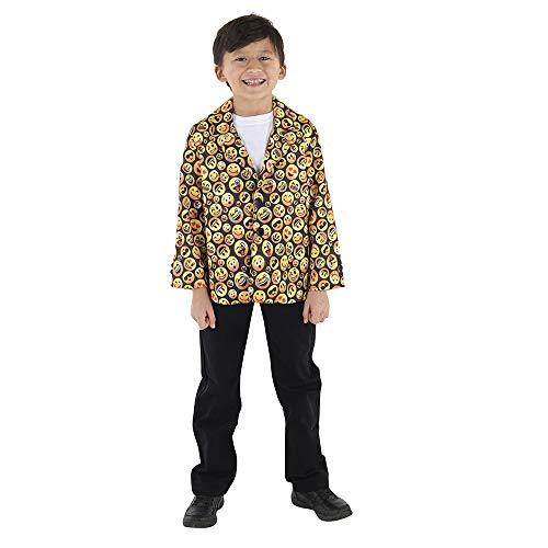 Dress Up America Adult Assorted Emoji Jacket Disfraces , Multicolor ( Multi color )  ,  One Size para Hombre