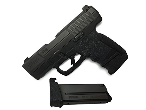 GripOn Textured Rubber Grip Wrap for Walther PPS Classic (Black)