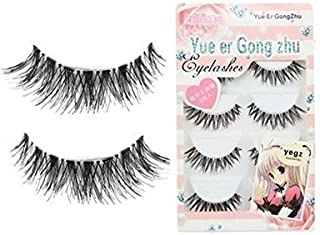 Bobopai 3D Fake Eyelashes Natural Thick False Eye Lashes Makeup Extension (D)(5 Pairs)
