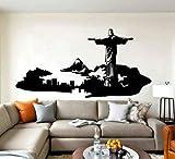 Adesivo murale Rio de Janeiro Adesivo Home Decor Soggiorno Vinile Skyline murale Camera da Letto Fai da Te Brasile