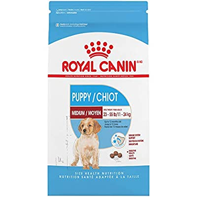 Royal Canin Medium Puppy Dry Dog Food, 6 pounds.
