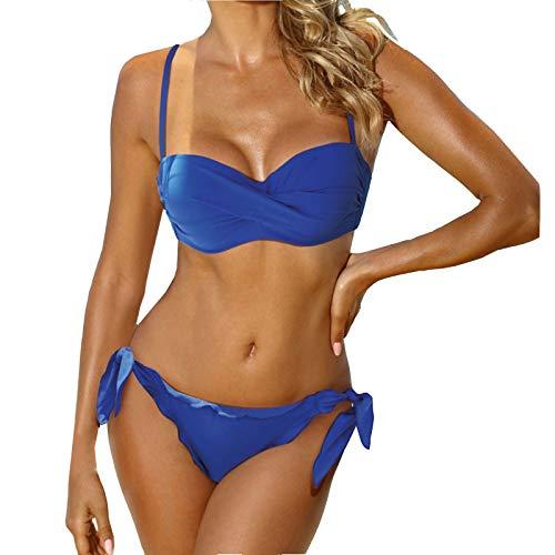 Pistazie - Bikini de dos piezas para mujer