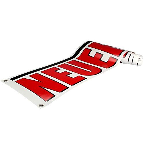 KDS Neueröffnung Spannbanner Banner Werbebanner 2 x 0,35 Meter 510g PVC Plane Plakat