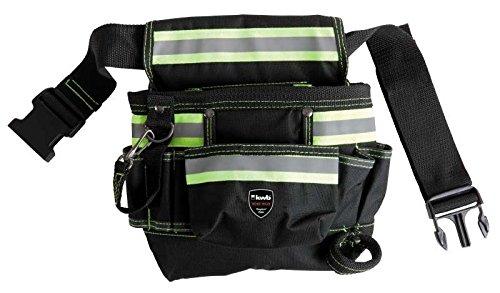 kwb Werkzeugtasche 909710 (aus Nylon, mit Nylon-Gürtel, 7 Fächer)