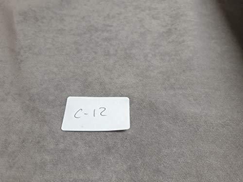 Tela Antelina Color Gris claro con Tratamiento Repelente al Agua (hidrofugo tapizar.Ancho 160 cm