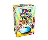 Noris Ding Dong 606061904 Ding Donut – On The Donuts – Listo – El Juego de Cartas rápido a Partir de 5 años