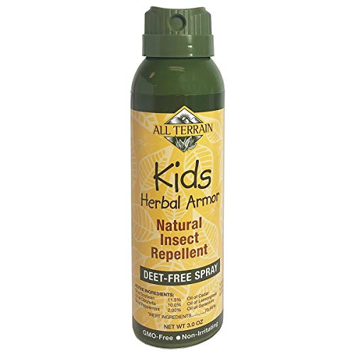 All Terrain Kids Herbal Armor Natural Insect Repellent, DEET-Free Spray, 3 Ounce