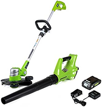 Greenworks 24V Cordless String Trimmer and Blower Combo Pack
