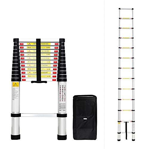 Todeco 3.8m Telescopic Ladder
