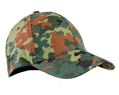 A. Blöchel US Army - Gorra de béisbol para niños camuflaje Talla única
