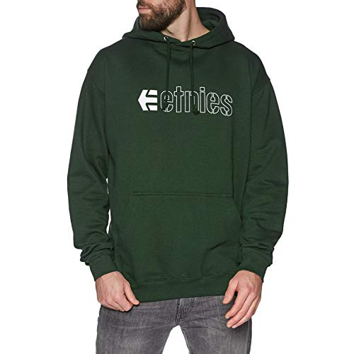 Etnies Ecorp Pullover Hoody Small Hunter Green