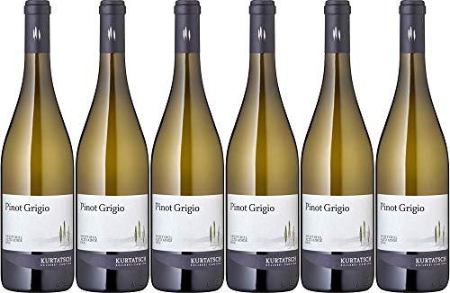 6x Pinot Grigio Kurtatsch 2019 - Weingut Cantina Kurtatsch, Südtirol - Weißwein