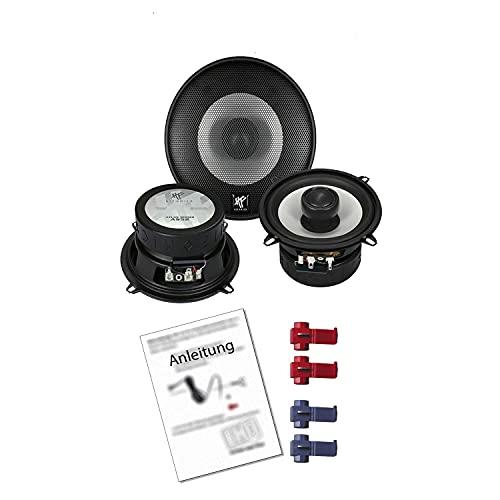 Hifonics Atlas AS52 Auto Lautsprecher 320W 130 mm 2 Wege Koax passend für VW...