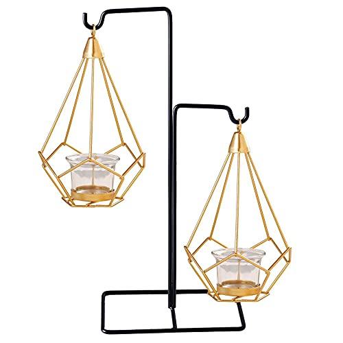 Candelieri,Candelabri geometrici Portacandele in metallo Candeliere decorativo Candelabri moderni Centro tavolo decorazioni,Festa Casa Giardino Nozze