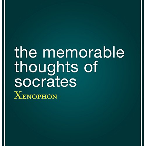 The Memorable Thoughts of Socrates cover art