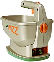 Scotts Wizz Hand-Held Spreader with EdgeGuard Technology - Apply Grass Seed, Fertilizer or Ice Melt - Battery Powered - Designed for Use Year Round - Holds up to 2,500 sq. ft of Scotts Lawn Products