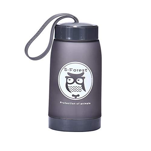 URSING Bouteille d'eau de Sport - sans BPA & Anti Fuite, Respectueux de l'environnement, Réutilisable Plastique Bouteilles de Gym pour 320ml
