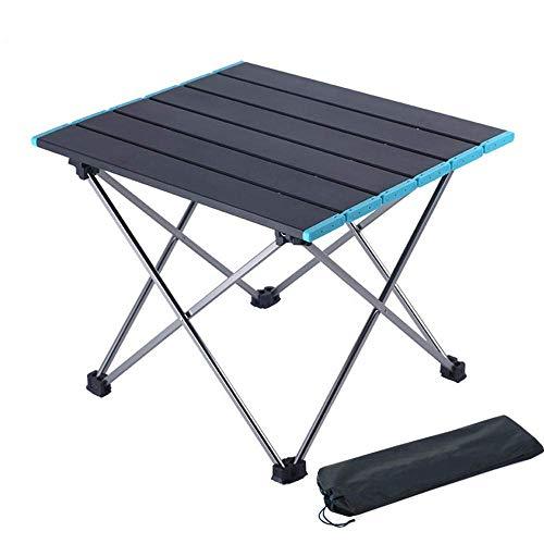 Portable Hard Gekrönt Layout Tabelle Aluminiumlegierung Tischbeine, leichte und faltbare Tisch mit Aufbewahrungstasche verwendet for Wandern, Garten, Strand, Grill, Angeln, Camping, Kochen 8bayfa