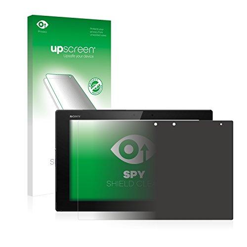 upscreen Pellicola Privacy Compatibile con Sony Xperia Z2 Tablet Anti-Spy