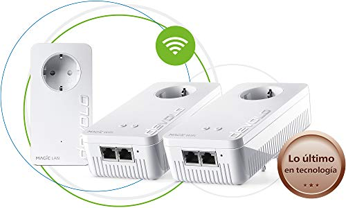 Devolo Magic 1 Wi-Fi - Multiroom Kit con 3 Adaptadores Powerline...