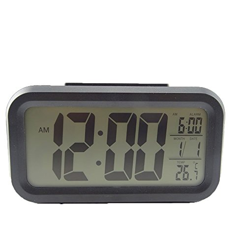 HONBAY Morning Clock,Low Light Sensor Technology,Soft Light That Won