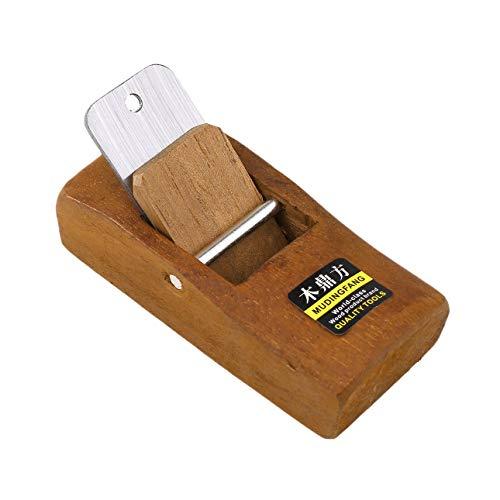 Cepillo de carpintero Manual para Madera //Made in Germany// 80 mm con 5 cuchillas de repuesto Maquinilla de mano para Madera