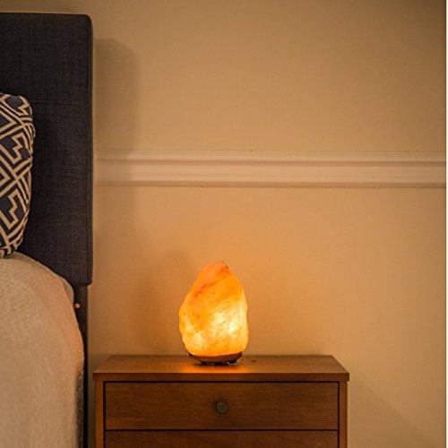 Mineralamp NSL-101 Salt lamp, Medium (8-11 lbs), Orange and Pink
