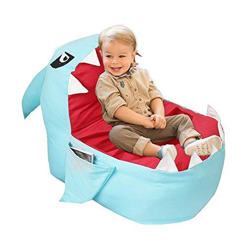 Luckystar4you Kids Bean Bag Gaming Chair - Stofftier Spielzeug Aufbewahrungstasche Stuhl