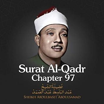 Surat Al-Qadr, Chapter 97