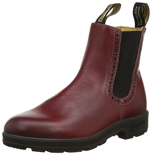 BLUNDSTONE Chelsea Boot, Stivaletti Unisex, Rosso (Burgundy), 38 EU (5 UK)