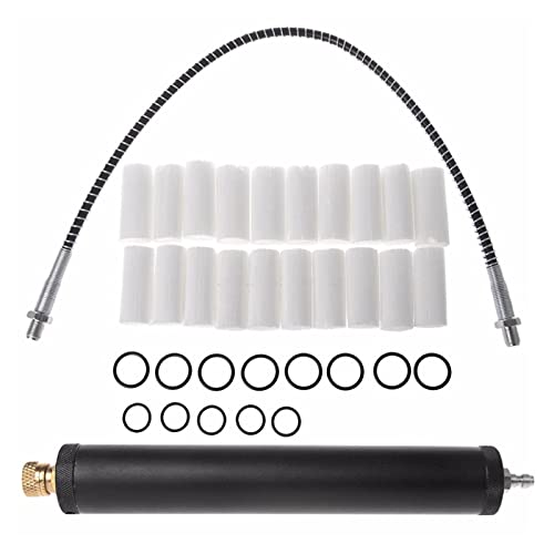HEQIE-YONGP Filtro de Aire, Aleación de Aluminio Negro PCP Filtro de Aire, compresor Separador de Agua-Agua Alta presión 40MPA 300Bar Bomba D13 19